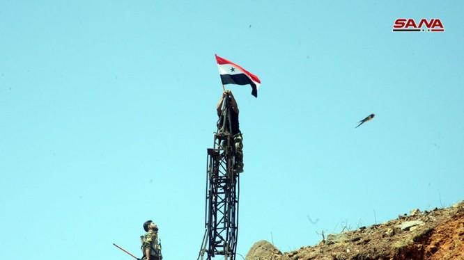 Binh sĩ quân đội Syria giải phóng Daraa. Ảnh video SANA