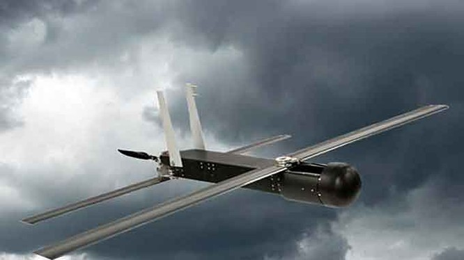 Máy bay không người lái (UAV) Raytheon Coyote. Ảnh minh họa của Raytheon