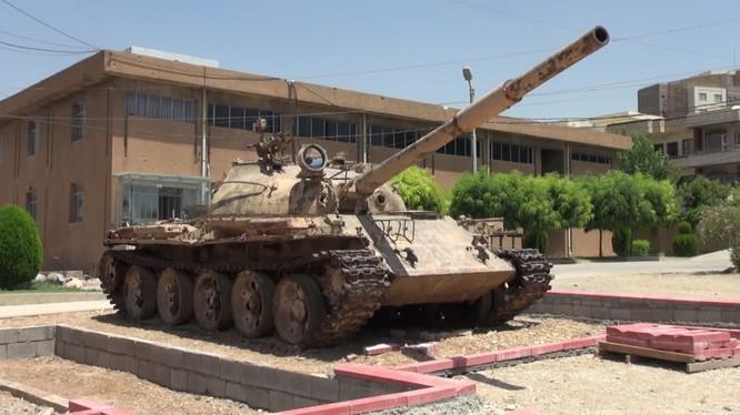 Cảnh viện bảo tàng nạn nhân chiến tranh người Kurds ở Iraq. Ảnh video