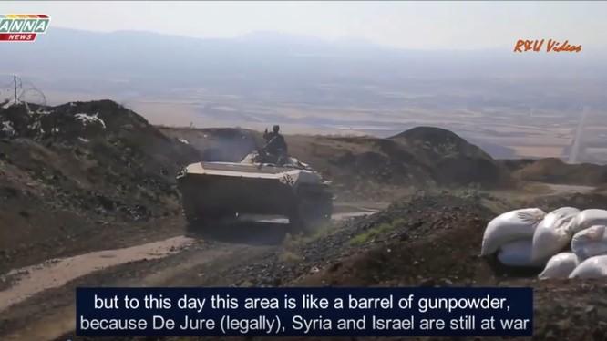 Lực lượng Tiger tiến công tiêu diệt IS trên chiến trường Daraa, Al-Quneida.