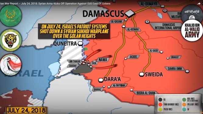 Tổng quan tình hình chiến sự ngày 24.07.2018 theo South Front