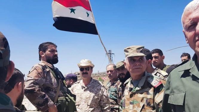 Quân đội Syria giải phóng khu dập nước trên thung lũng Yarmouk. Ảnh minh họa South Front