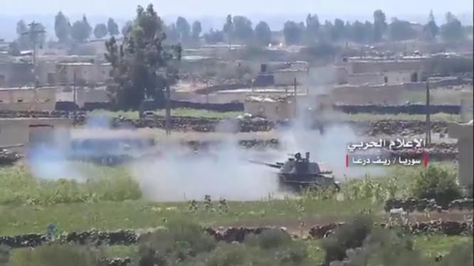 Quân đội Syria tấn công IS ở Daraa. Ảnh minh họa South Front