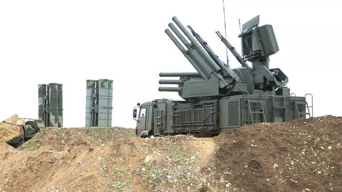 Tổ hợp pháo - tên lửa phòng thủ tầm gần Paltsir -1S. Ảnh minh họa South Front