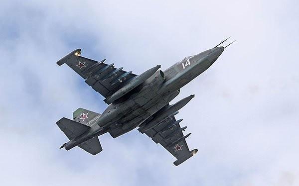 Máy bay cường kích Su25 SM của Nga. Ảnh minh họa RG