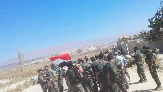 Quân đội Syria tiến vào giải phóng Quneitra. Ảnh minh họa South Front