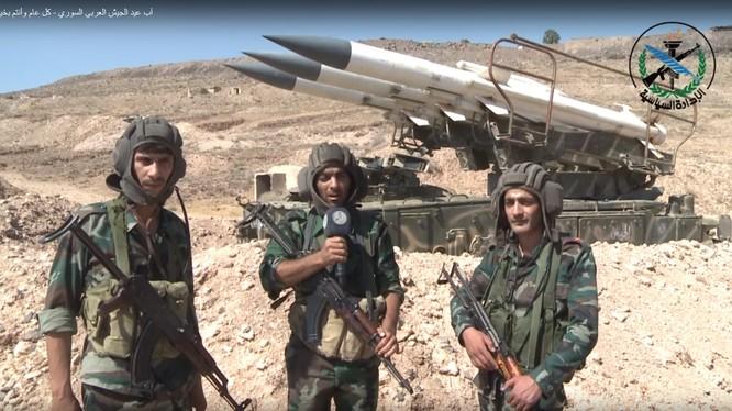 Lực lượng phòng không Syria. Ảnh minh họa video truyền thông quân đội Syria