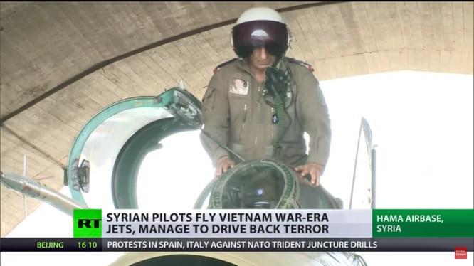 Không quân Syria trên chiến trường Hama. Ảnh minh họa RT