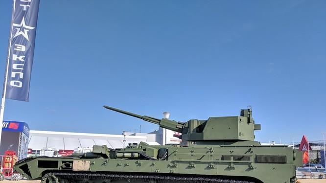 Xe thiết giáp hạng nặng BMP với pháo 57 mm. Ảnh Twitter Ivan O'Gilvi