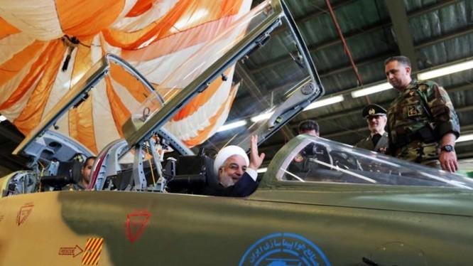 Máy bay chiến đấu 100% sản xuất trong nước Kowsar của iran. Ảnh South Front