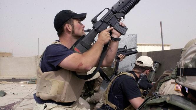 Lính đánh thuê Mỹ tham chiến ở Afghanistan. Ảnh minh họa Business Insider