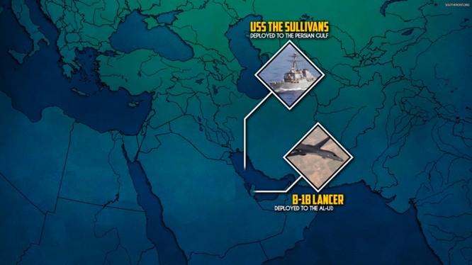 Lực lượng không quân, hải quân Mỹ chuẩn bị không kích Syria. Ảnh minh họa South Front