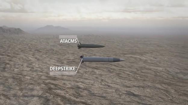 Tên lửa chiến thuật mới DeepStrike, được phát triển thay thế các tên lửa chiến thuật M270 Mỹ. Ảnh Militaryleak