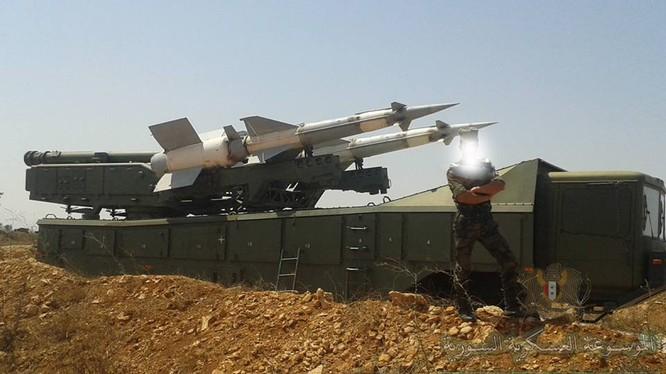Tổ hợp tên lửa Pechora-2M sẵn sàng bẻ gãy cuộc tấn công của liên minh Mỹ, Anh, Pháp