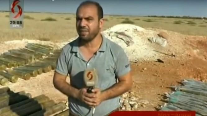 Quân đội Syria thu vũ khí ở phía tây bắc tỉnh Hama. Ảnh minh họa video syria alikhbaria