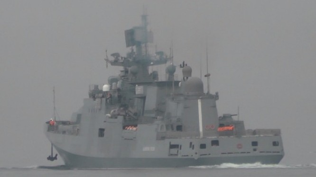 Hải quân Nga diễn tập trên biển Địa Trung Hải gần Syria