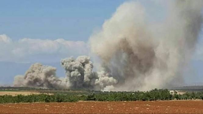 Không quân Nga bắt đầu chiến dịch không kích dọn bãi ở Idlib cho quân đội Syria