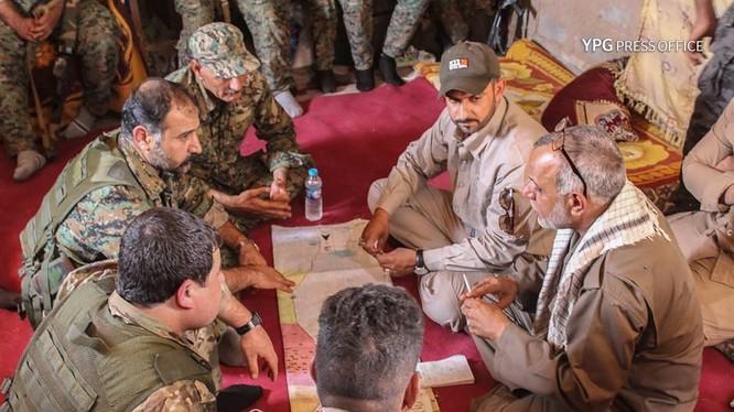 Lực lượng người Kurd hoạt động bí mật ở Afrin. Ảnh minh họa Masdar News.