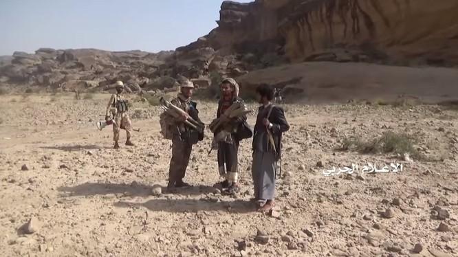 Chiến binh Houthi trên vùng biên giới với Ả rập Xê út. Ảnh minh họa South Front