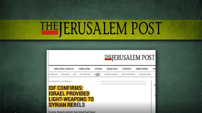 Israel kiểm duyệt báo chí liên quan đến chiến trường Syria. Ảnh minh họa video South Front.