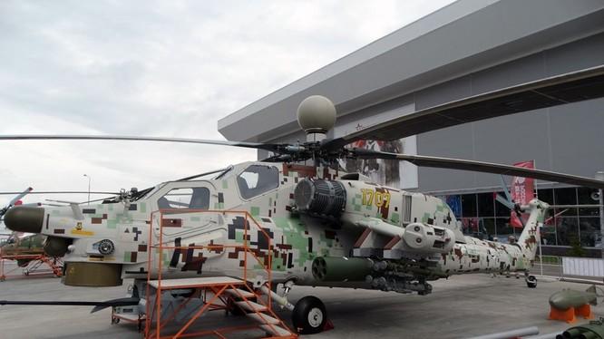 Trực thăng tấn công Mi-28NM trong diễn đàn kỹ thuật quân sự Army - 2018. Ảnh minh họa RG