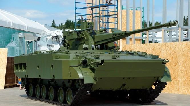 """Pháo phòng không tự hành đa nhiệm ZSU 57 mm """"Derivatsia - PVO"""" 2С38. Ảnh Russian Gazeta"""