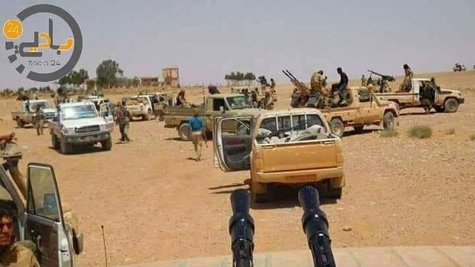 Lực lượng Hồi giáo nổi dậy Al-Tanf sẽ di tản về Aleppo. Ảnh minh họa South Front
