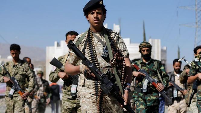 Chiến binh Houthi ở Yemen