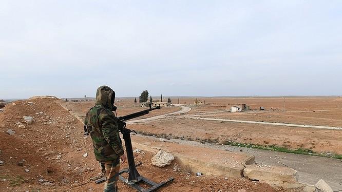Binh sĩ quân đội Syria trên chiến trường tỉnh Idlib. Ảnh minh họa South Front
