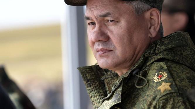 Đại tướng Bộ trưởng Quốc phòng Nga Shougu. Ảnh minh họa Sputnik