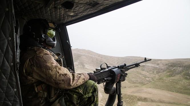 Trực thăng Mỹ trên chiến trường Syria. Ảnh minh họa South Front