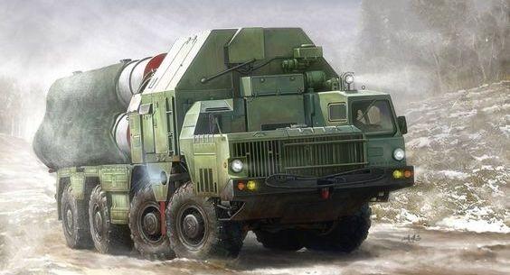 Xe phóng hệ thống tên lửa phòng không S-500. Ảnh minh họa Militarywatchmagazine