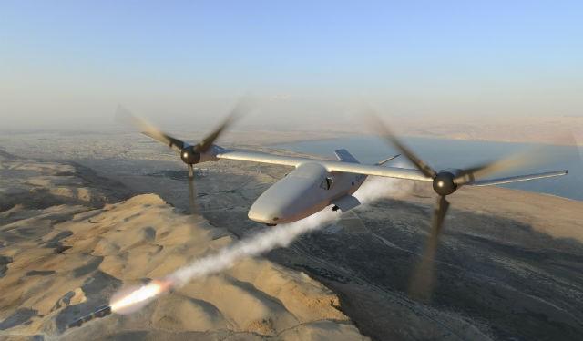 Máy bay chiếu đấu không người lái (UAV) V-247, mô phỏng dự án Bell Helicopter
