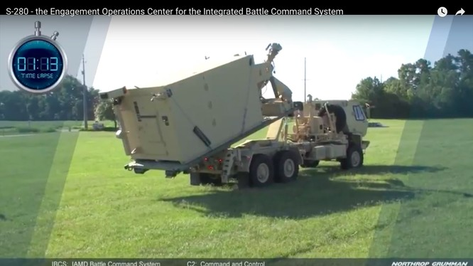 Trung tâm chỉ huy, điều hành tác chiến dạng mạng IBCS đang được triển khai. Ảnh minh họa Northrop Grumman