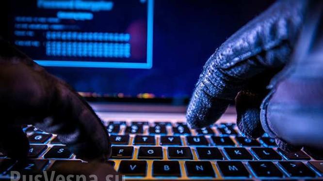 Hacker tấn công mạng không gian ảo. Ảnh minh họa Rusvesna