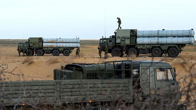 Hệ thống S-300 của Nga, được cho là triển khai ở Syria. Ảnh minh họa của South Front