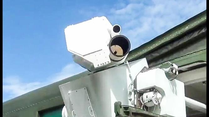Vũ khí laser Nga Peresvet, nguồn điện là lò phản ứng hạt nhân nhỏ cung cấp cho các đơn vị vũ trang Nga. Ảnh minh họa video Bộ quốc phòng Nga