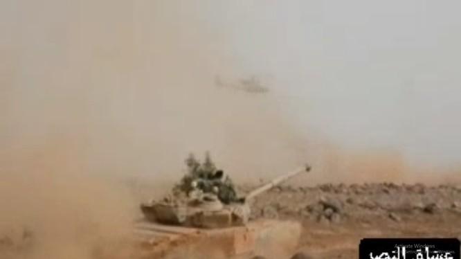 Lực lượng Tiger diễn tập dưới quyền chỉ huy của tướng Susheil Al-Hassan