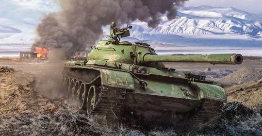 Xe tăng T-59 (phiên bản T55 nội địa Trung Quốc). Ảnh minh họa Military Watch Magazine