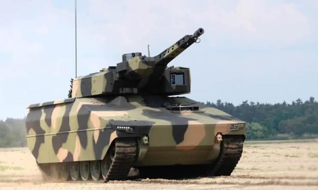 Xe bộ binh chiến đấu tàng hình Lynx (IFV) của hãng Rheinmetall. Ảnh minh họa: Rheinmetall.