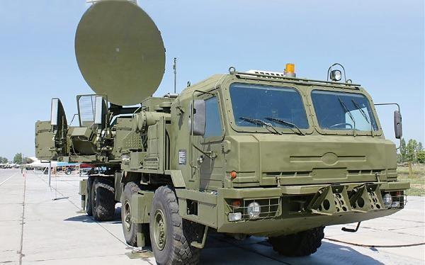 Tổ hợp tác chiến điện tử Krasukha -S4 của Nga ở Syria. Ảnh minh họa South Front