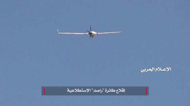 Máy bay không người lái vũ trang của Houthi tiến công chiến tuyến của Liên minh quân sự do Ả rập Xê-út dẫn đầu. Ảnh minh họa: South Front.