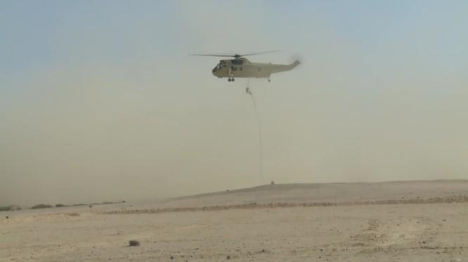 Đặc nhiệm đổ bộ đường không Nga - Ai Cập diễn tập chống khủng bố. Ảnh minh họa: Ruptly.