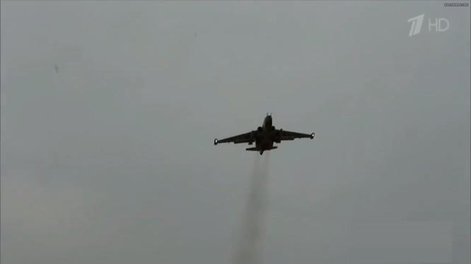 Không quân Nga không kích trên chiến trường Syria. Ảnh minh họa: South Front.