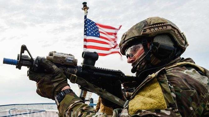 Binh sĩ Mỹ trên chiến trường Syria. Ảnh minh họa: South Front.