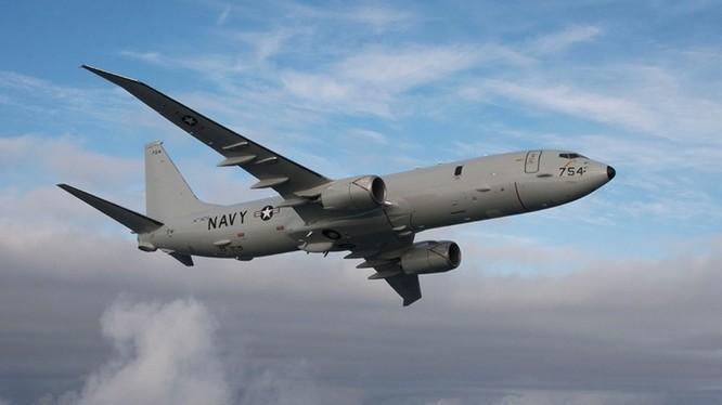 Máy bay trinh sát điện tử chống ngầm P-8 Poseidon Mỹ. Ảnh minh họa RT