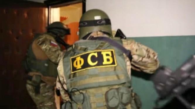 Lực lượng FSB Nga bắt giữ khủng bố IS ở Moscow. Ảnh minh họa: RT.