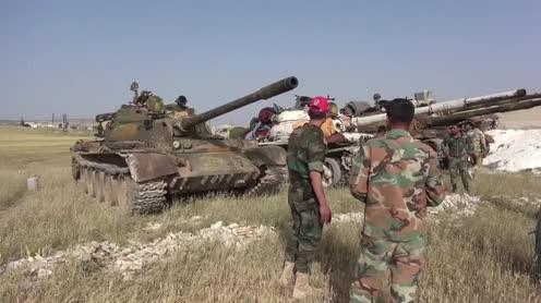 Lực lượng vũ trang Syria ở idlib. Ảnh minh họa: Masdar News.