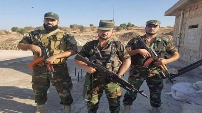 Tướng Suheil al-Hassan, tư lệnh trưởng sư đoàn Tiger. Ảnh minh họa: Masdar News.