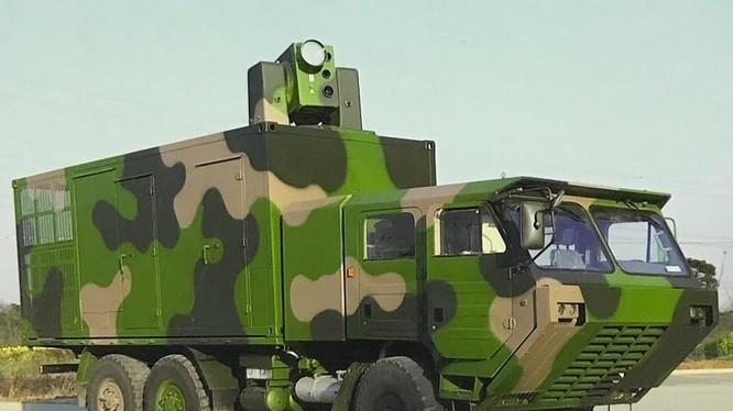 Vũ khí laser LW-30, được trưng bày trong triển lãm Airshow China 2018. Ảnh minh họa: Defence-Blog.